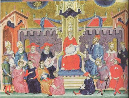 the monarchy challenged the papals authority by the end of the middle ages Quiz & worksheet - monarchy in the renaissance quiz they directly challenged church authority the early middle ages go to the early middle.